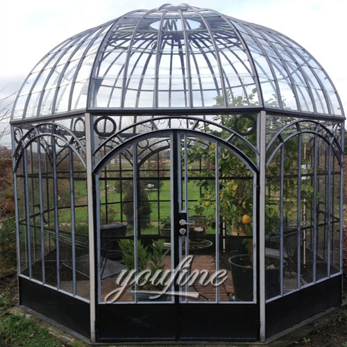 Buying large outdoor steel round gazebo for garden&yard decor