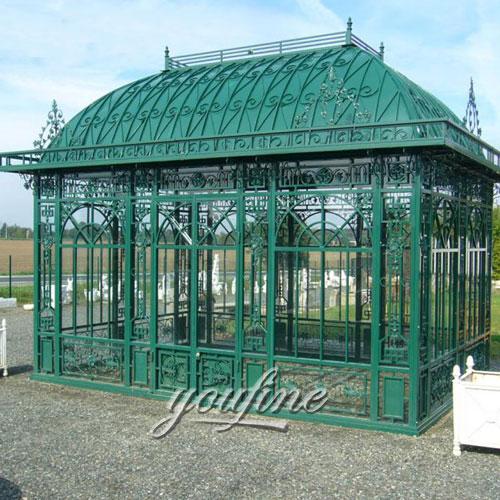Buying outdoor metal gazebo for garden decor