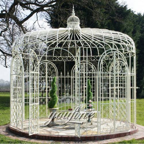 Outdoor large metal gazebo for garden decor with best price