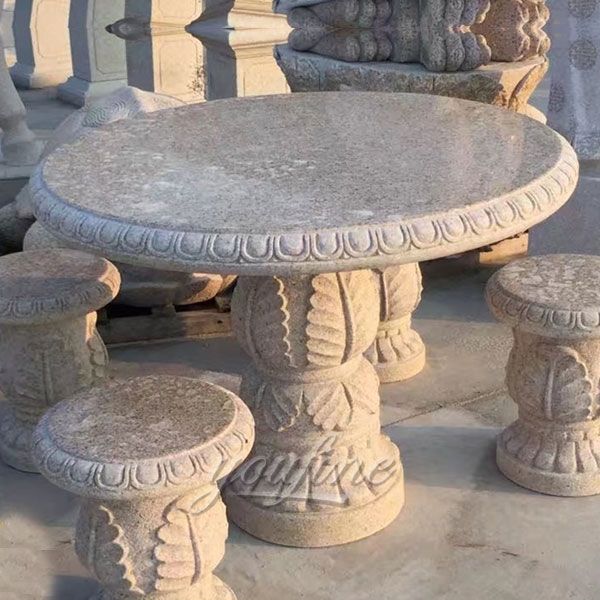 Factory supply marble table and chairs set for sale