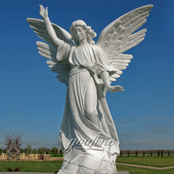 Outdoor life size Angel cherokee memorial park for decor