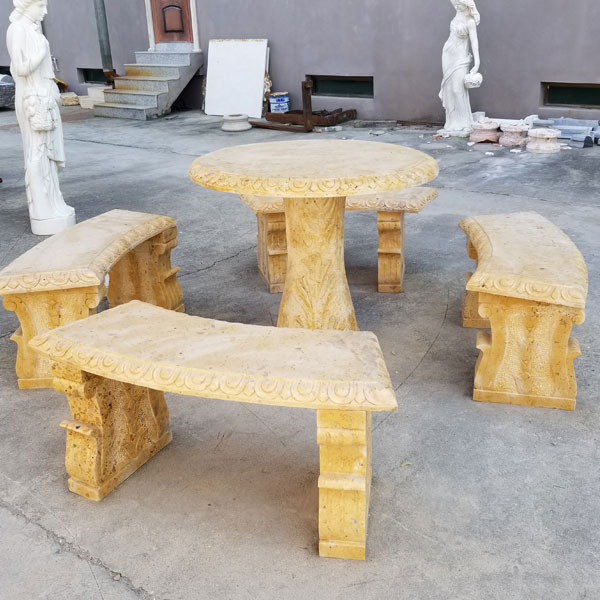 marble-table-and-bench-set-for-sale